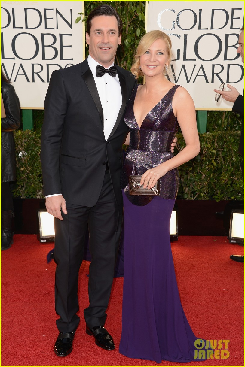 jon hamm golden globes 2013 red carpet 06