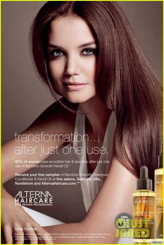 katie holmes alternia hair cares newest face 01