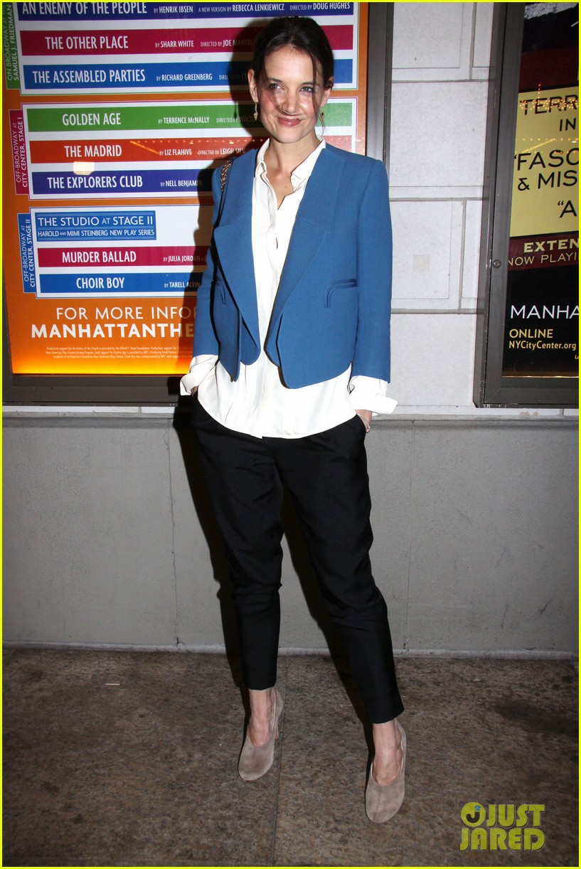 katie holmes the other place broadway opening night 01