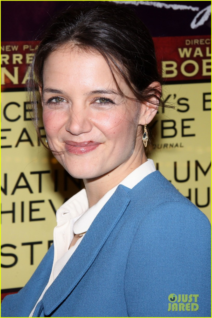katie holmes the other place broadway opening night 02