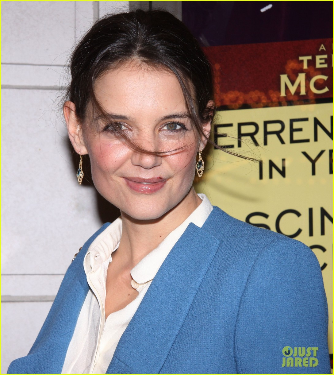 katie holmes the other place broadway opening night 04