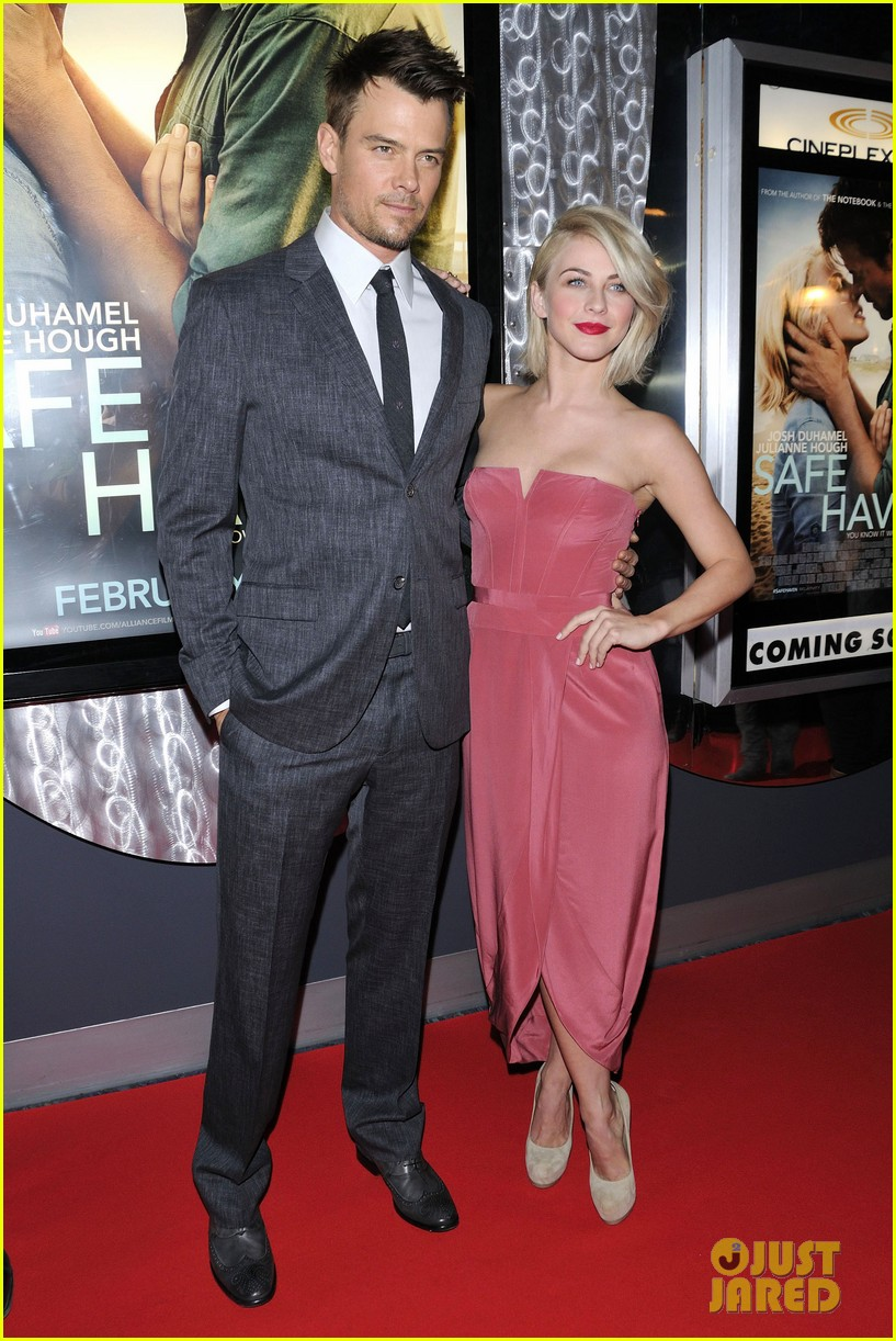 josh duhamel julianne hough safe haven toronto premiere 03
