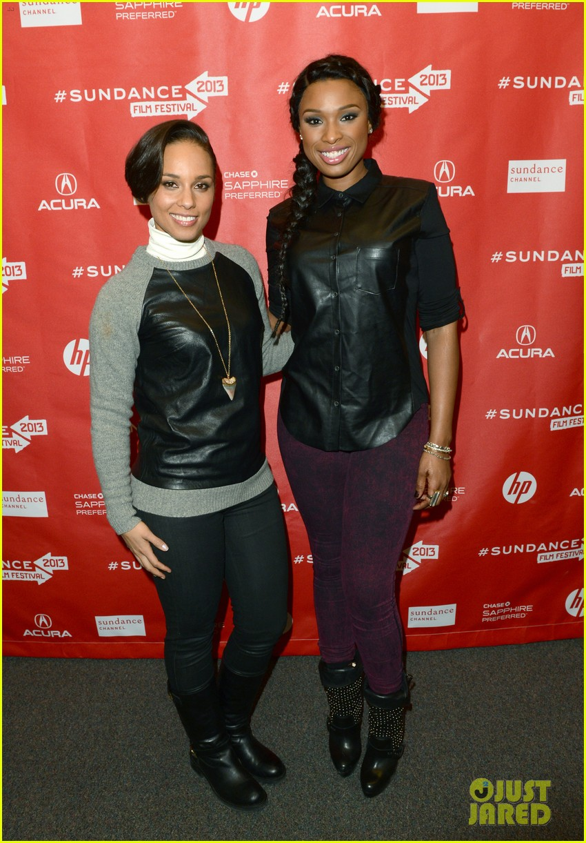 jennifer hudson alicia keys defeat of mister and pete screening 04