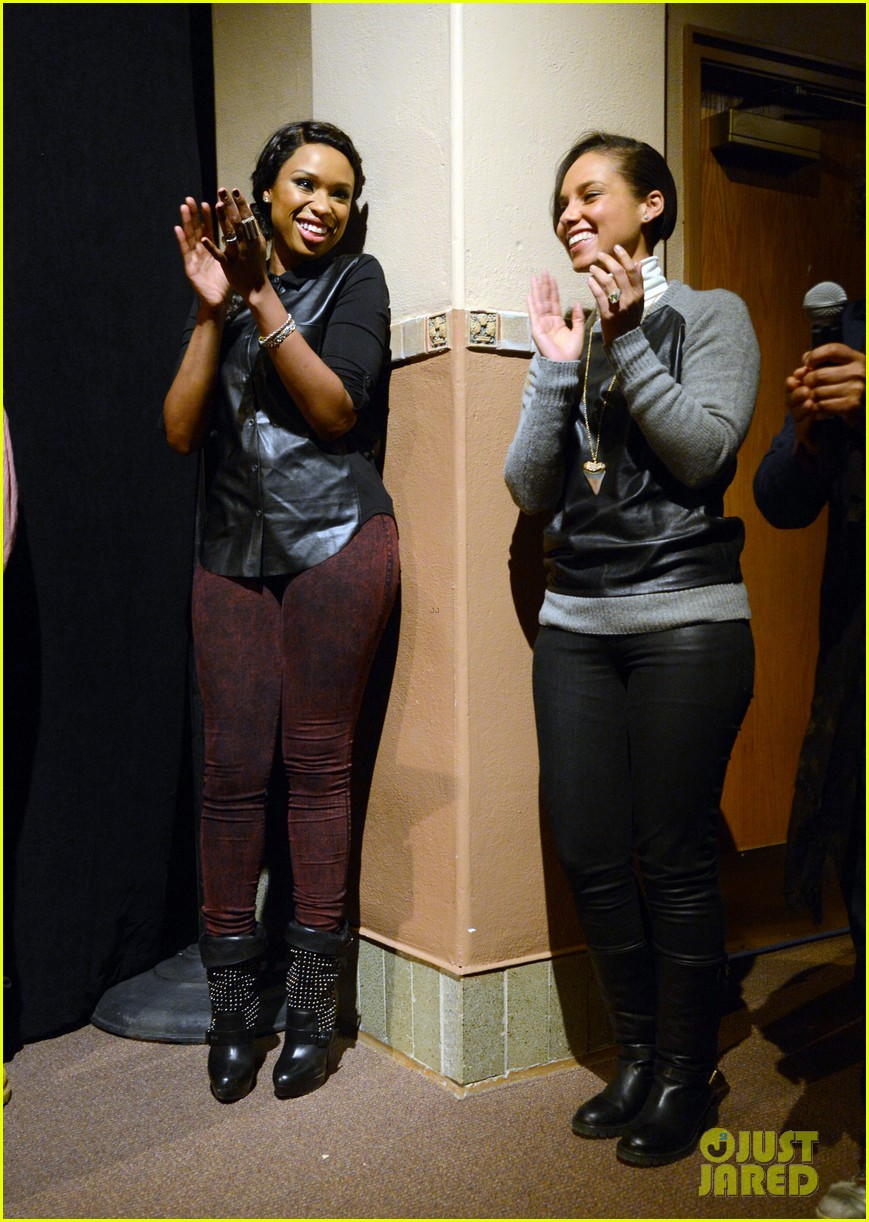 jennifer hudson alicia keys defeat of mister and pete screening 062794107
