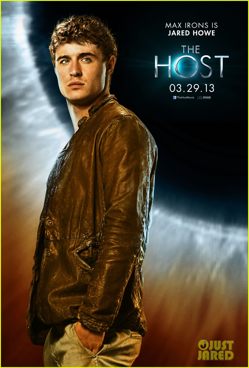 max irons new the host character poster exclusive 01