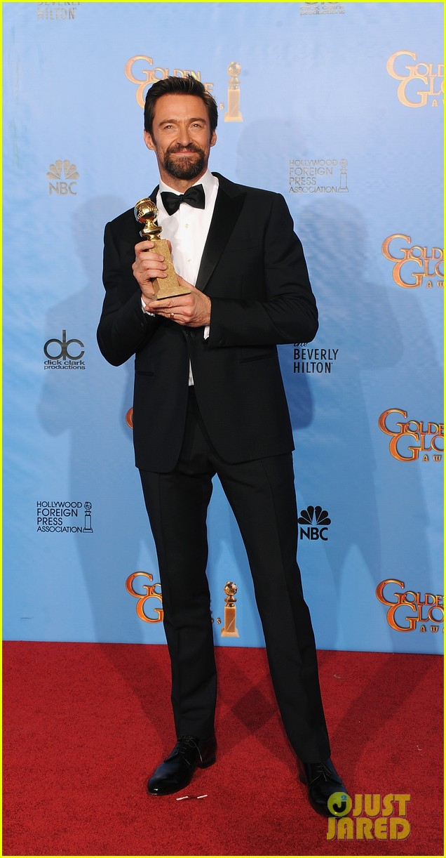 hugh jackman golden globes 2013 red carpet 07