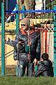 jared padalecki genevieve cortese park playdate with thomas 14