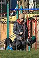 jared padalecki genevieve cortese park playdate with thomas 23