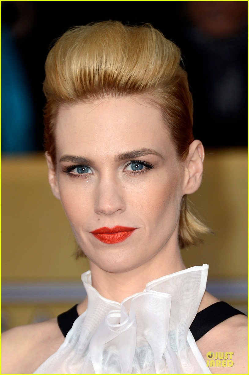 january jones jon hamm sag awards 2013 red carpet 02