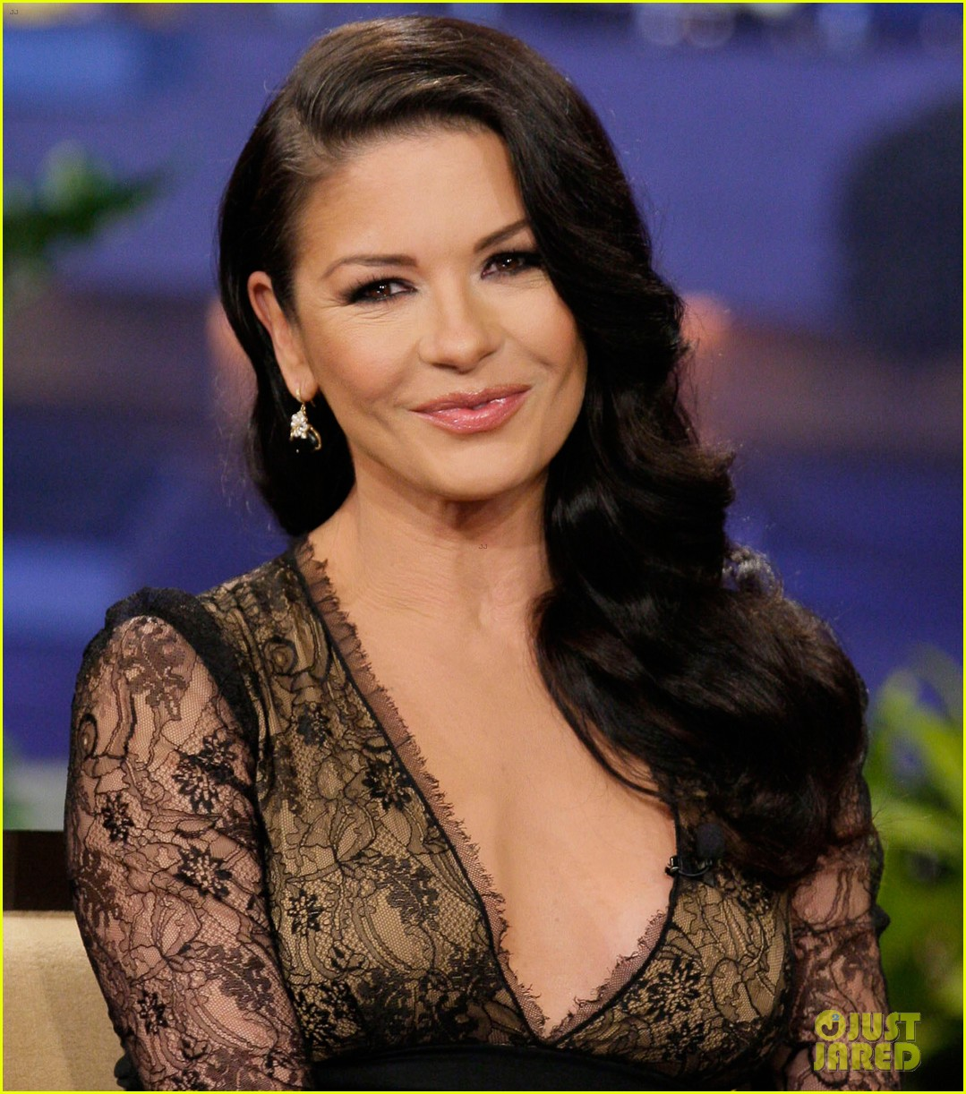 catherine zeta jones tonight show with jay leno visit 01