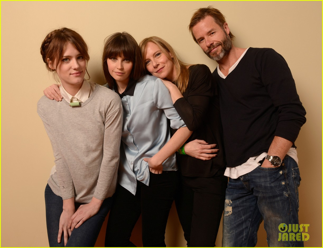 felicity jones guy pearce breathe in at sundance 15