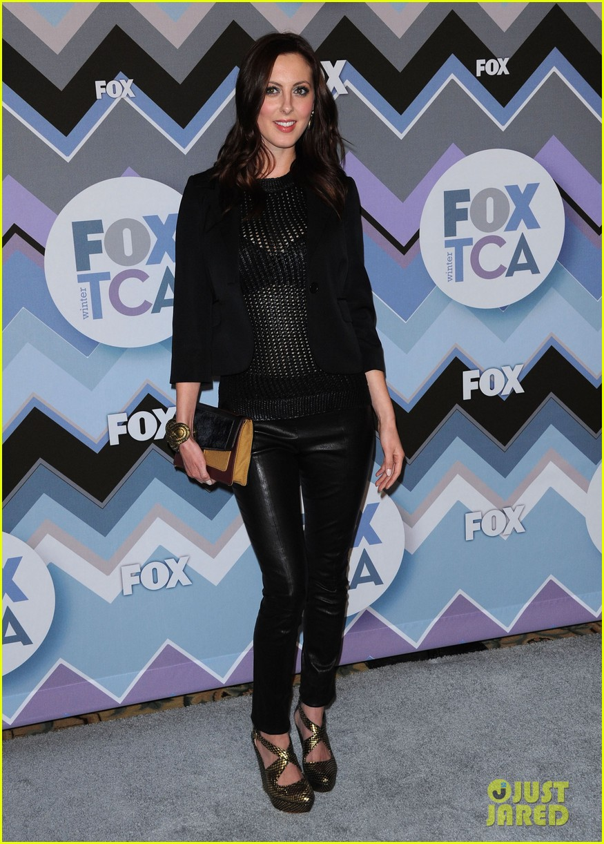 mindy kaling zooey deschanel fox tca all star party 14