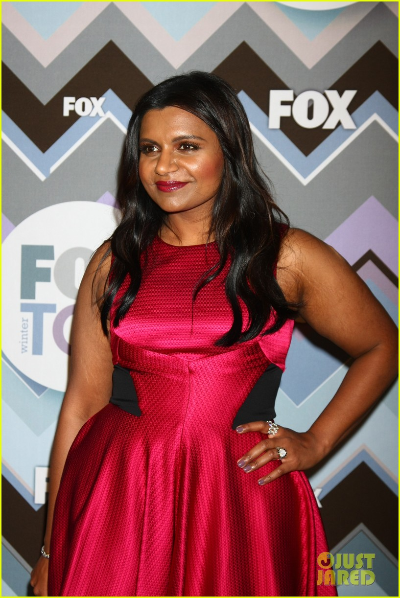 mindy kaling zooey deschanel fox tca all star party 182787598