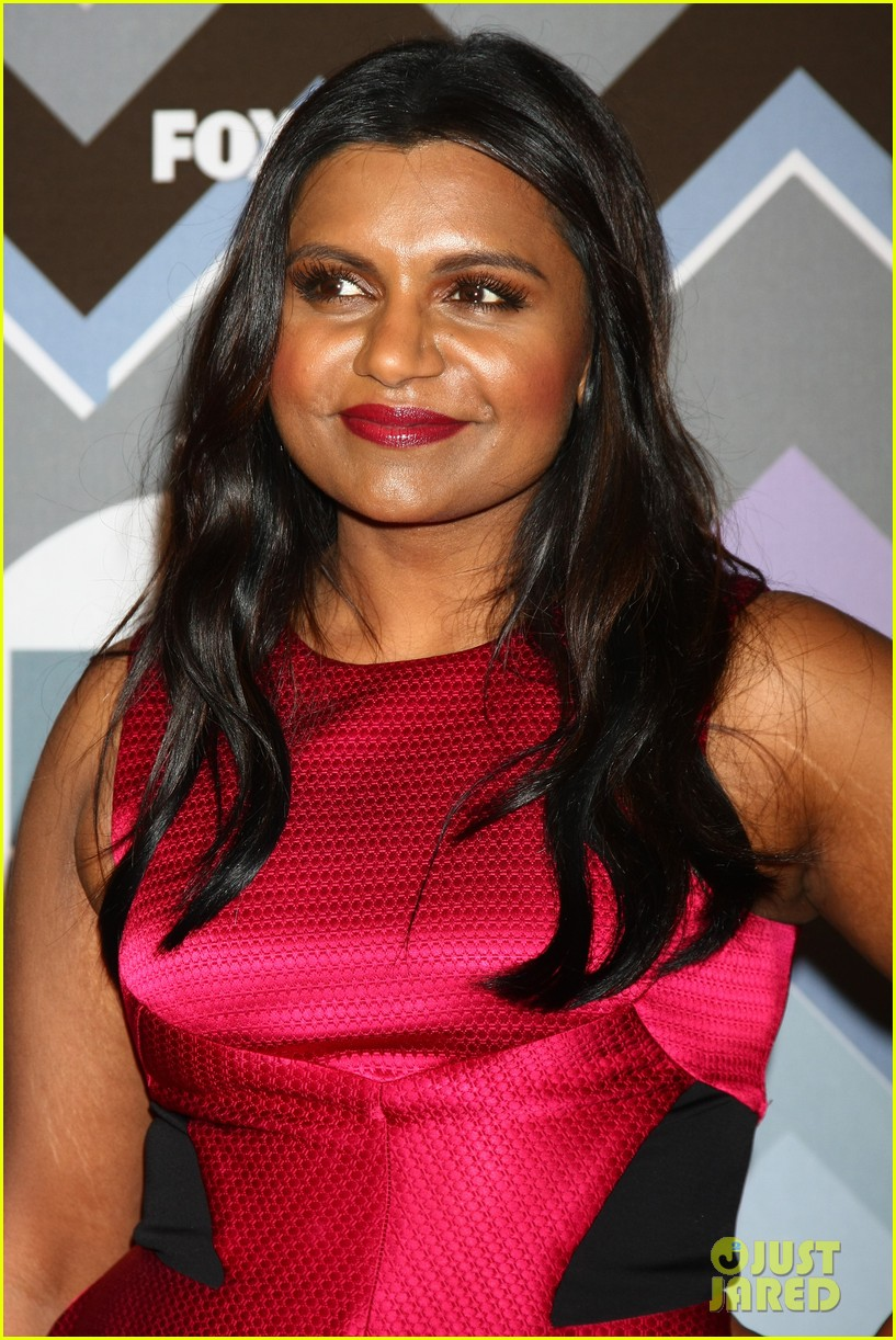 mindy kaling zooey deschanel fox tca all star party 20