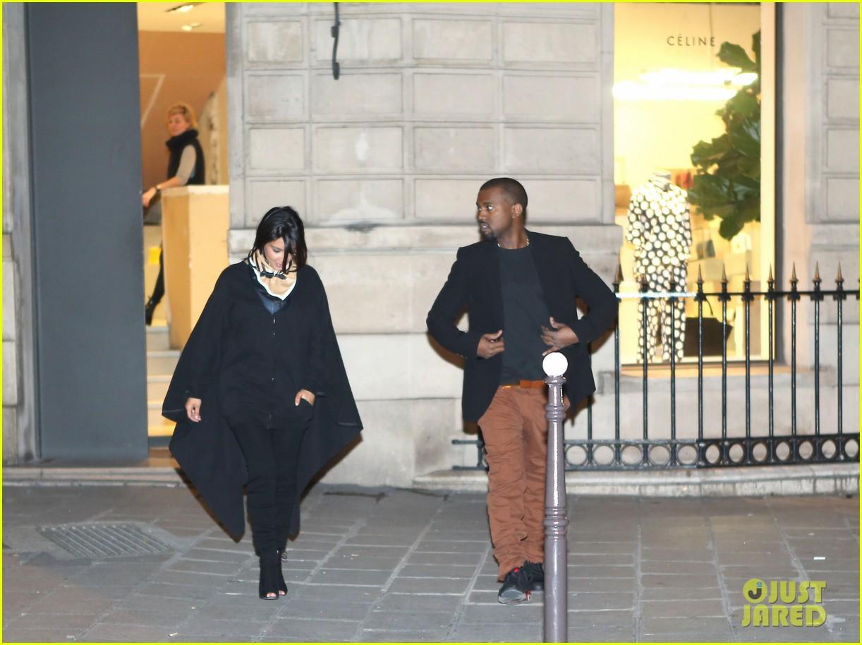 kim kardashian kanye west celine shoppers 03