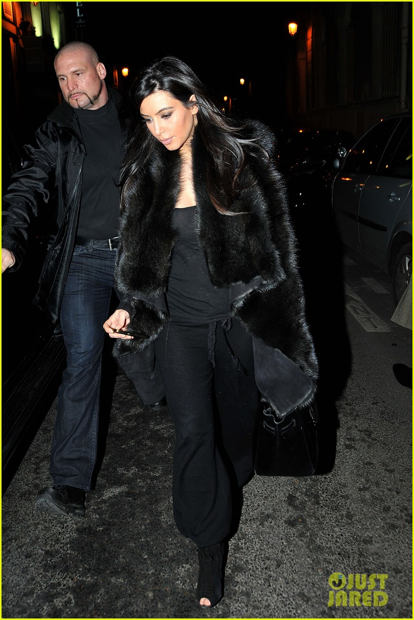kim kardashian heads to dinner kanye west is super cold 02