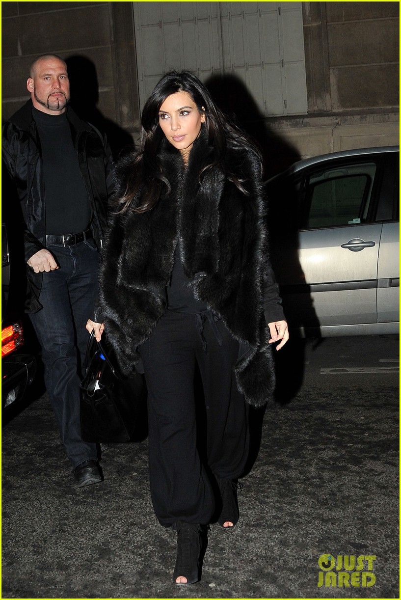 kim kardashian heads to dinner kanye west is super cold 12