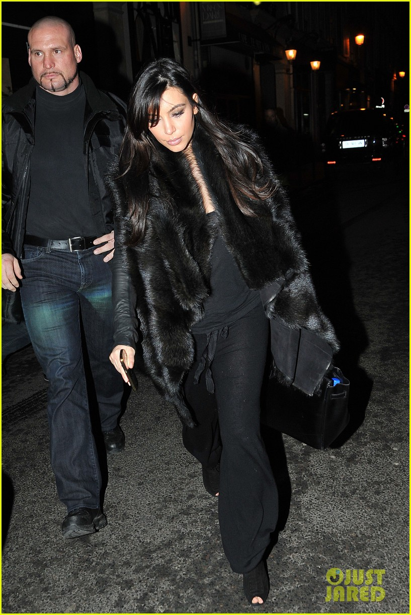 kim kardashian heads to dinner kanye west is super cold 13