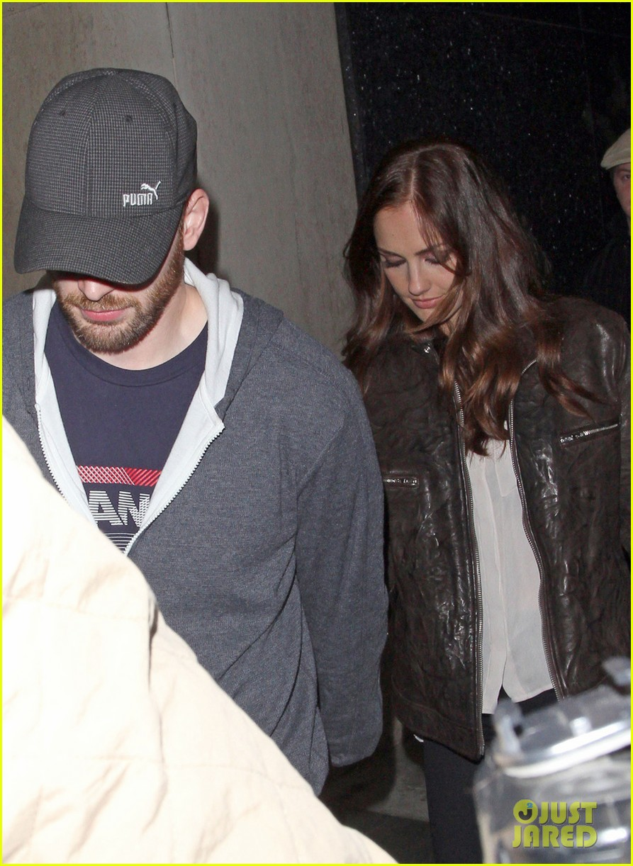 minka kelly chris evans bootsy bellows couple 022790740