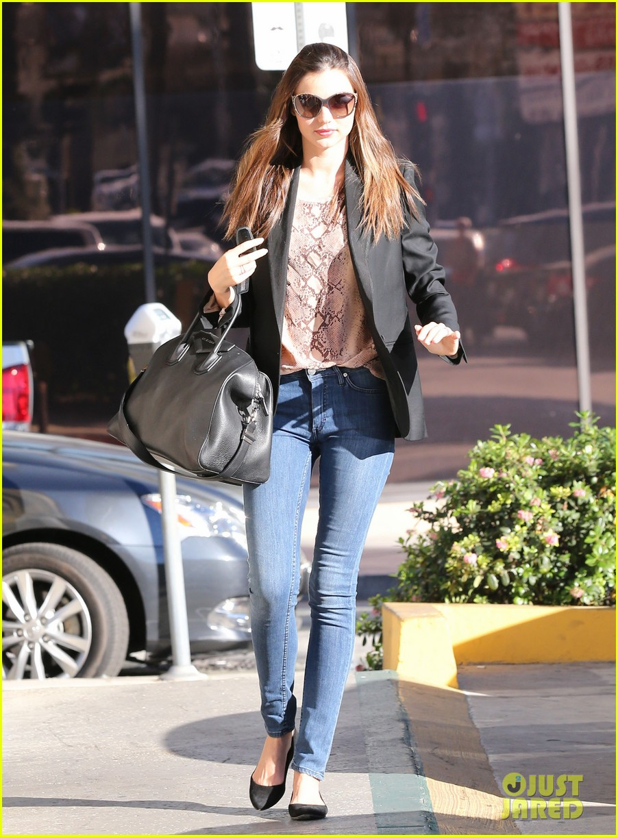 miranda kerr gets pampered orlando bloom goes for a ride 132796303