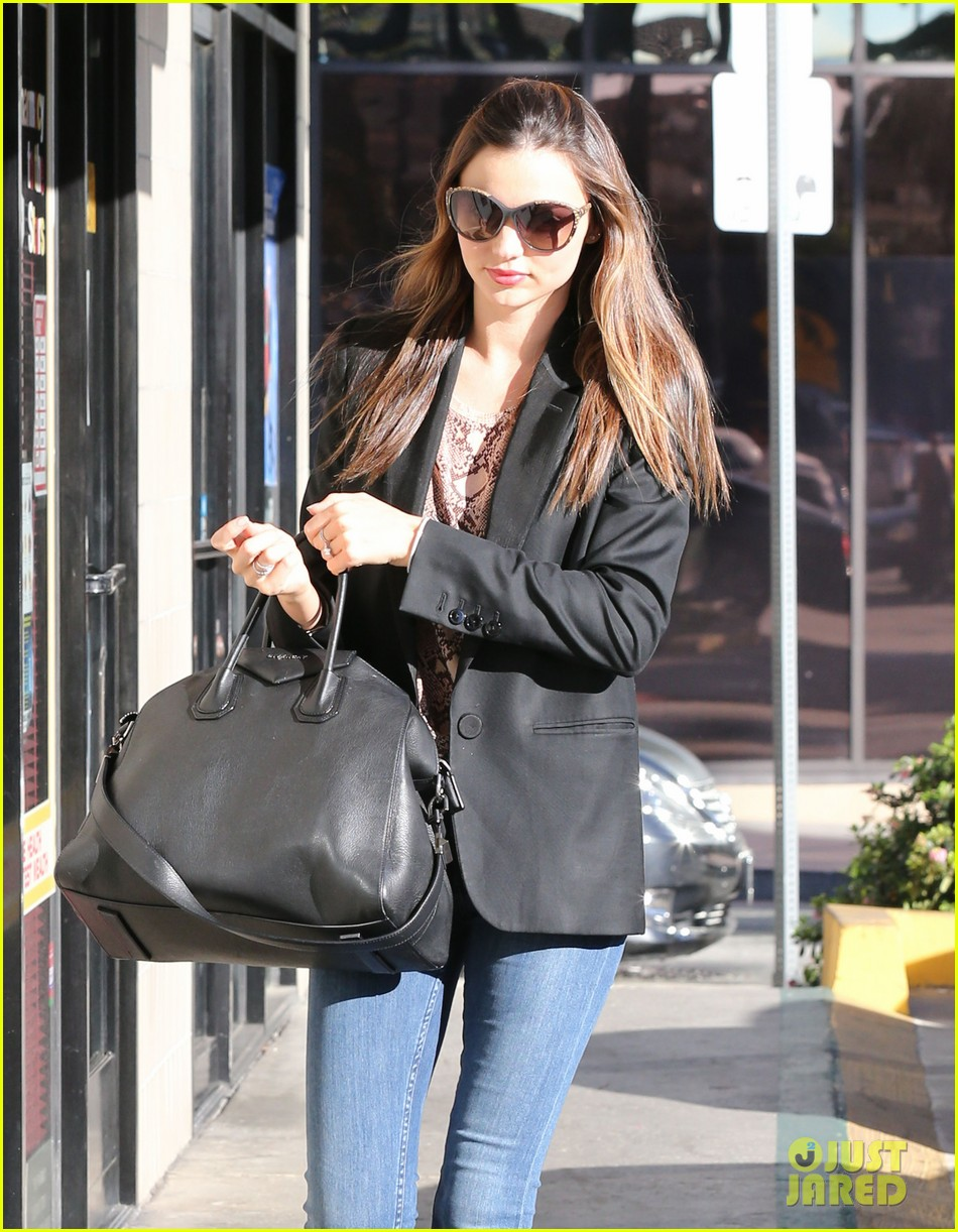 miranda kerr gets pampered orlando bloom goes for a ride 16