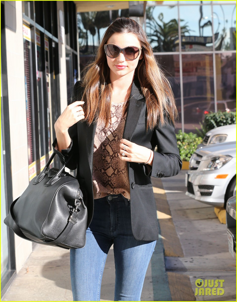 miranda kerr gets pampered orlando bloom goes for a ride 232796313