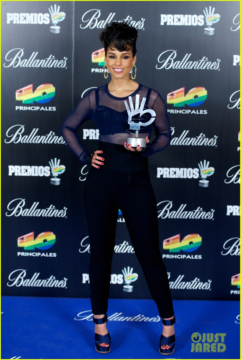 alicia keys 40 principales awards performance watch now 03