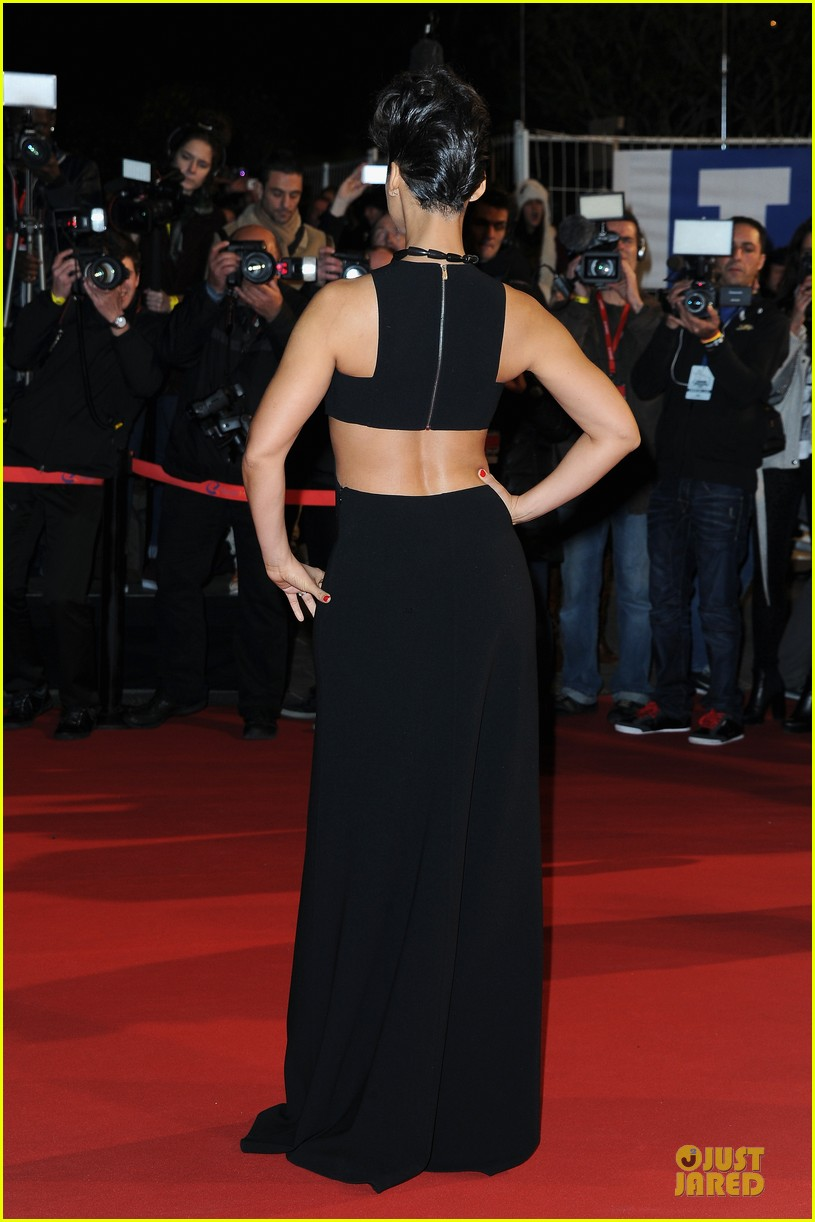 alicia keys nrj music awards 2013 red carpet 03