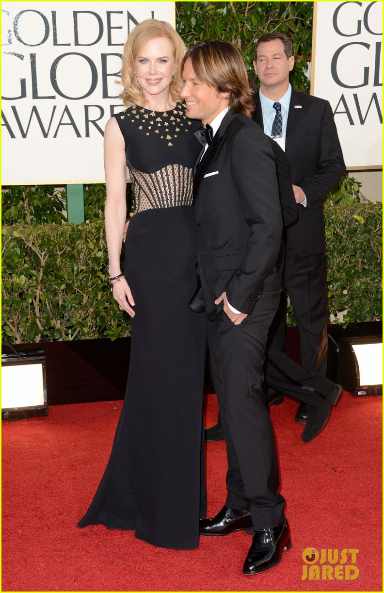 nicole kidman keith urban golden globes 2013 red carpet 032790947