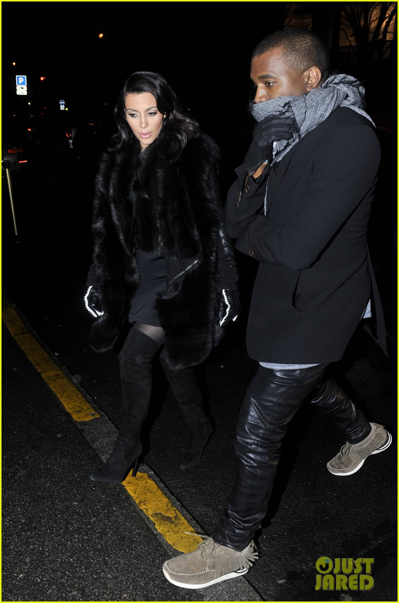 kim kardashian kanye west perfect night in paris 04