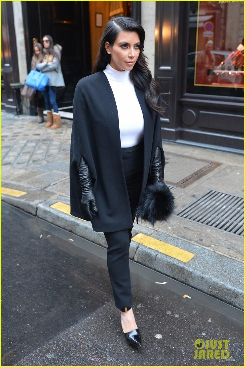 kim kardashian kanye west perfect night in paris 09