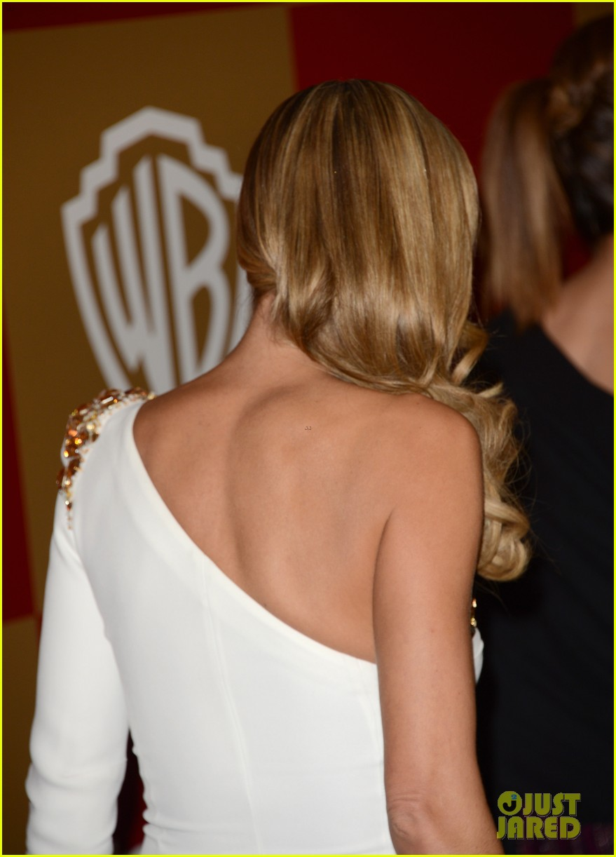 heidi klum golden globes 2013 red carpet 062791799