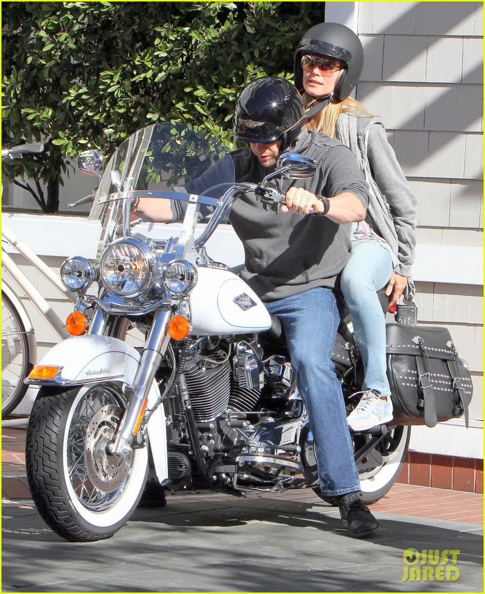 heidi klum martin kirsten motorcycle couple 14