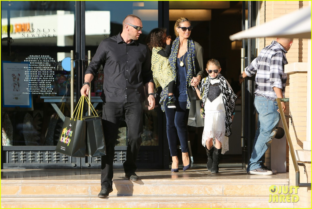 heidi klum martin kirsten lunch shopping with the girls 15