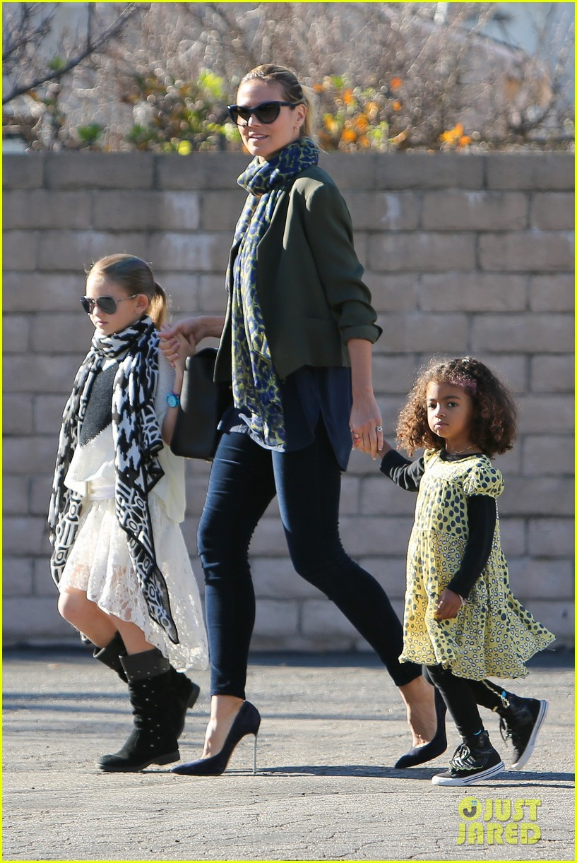 heidi klum martin kirsten lunch shopping with the girls 162784599