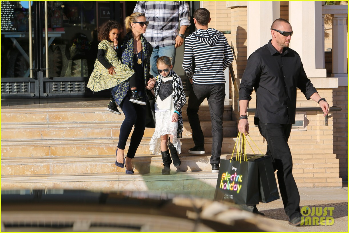 heidi klum martin kirsten lunch shopping with the girls 18