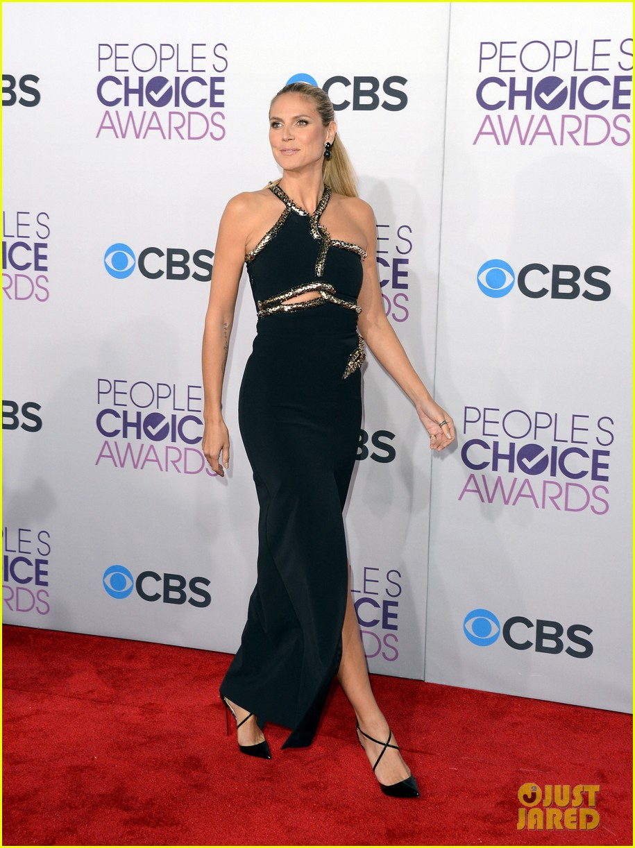 heidi klum peoples choice awards 2013 red carpet 05