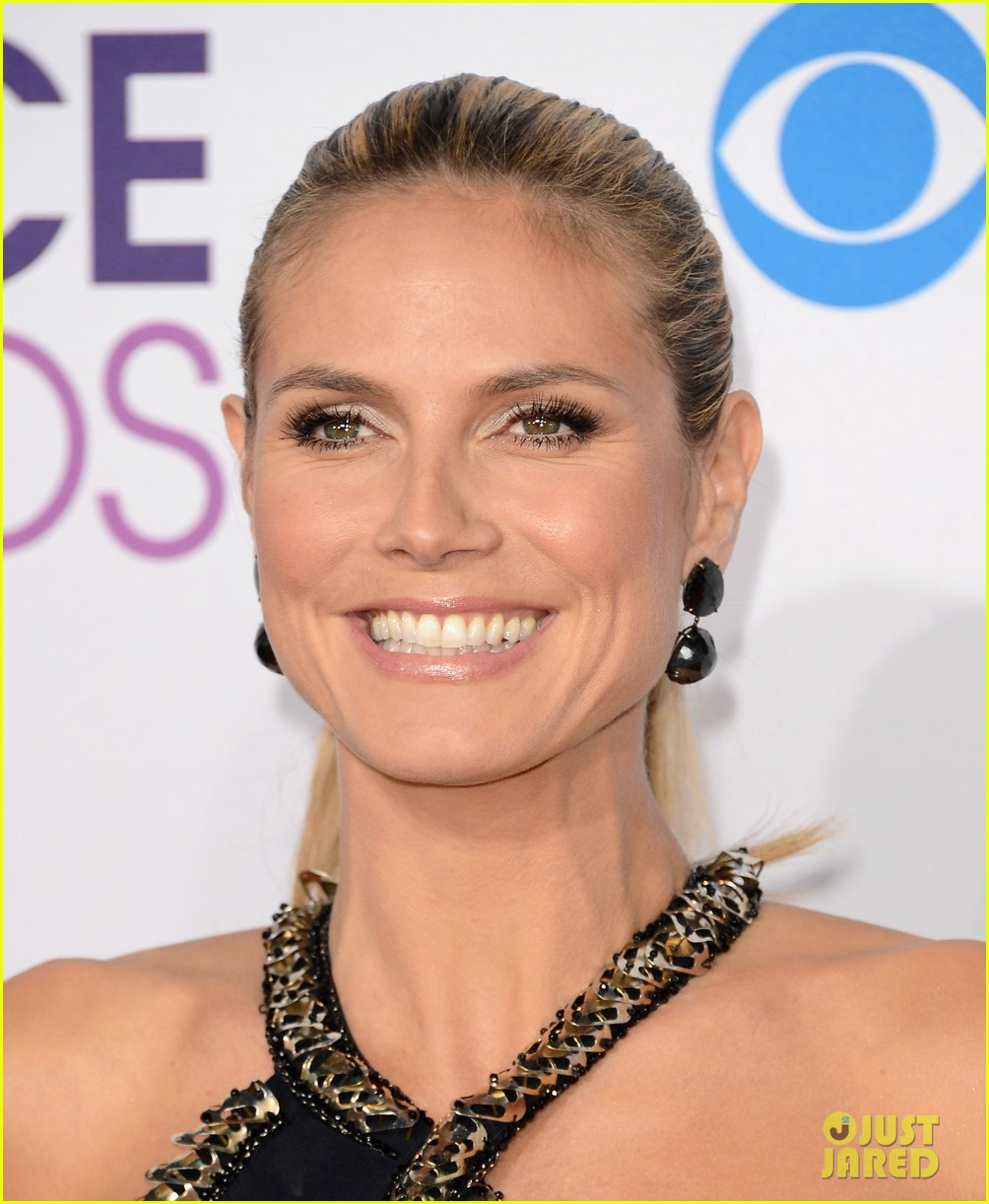 heidi klum peoples choice awards 2013 red carpet 10