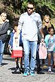 heidi klum martin kirsten swinging saturday with the kids 06