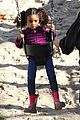 heidi klum martin kirsten swinging saturday with the kids 26