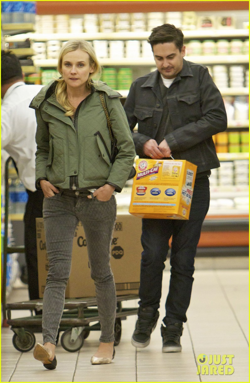 diane kruger gelsons grocery stop 072792626