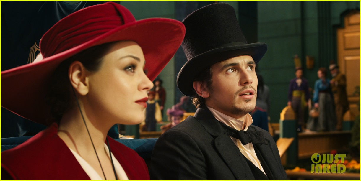 mila kunis james franco oz the great and powerful set visit 06