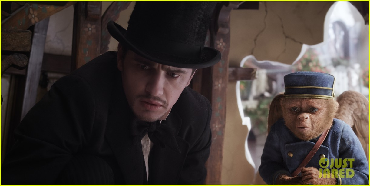 mila kunis james franco oz the great and powerful set visit 09