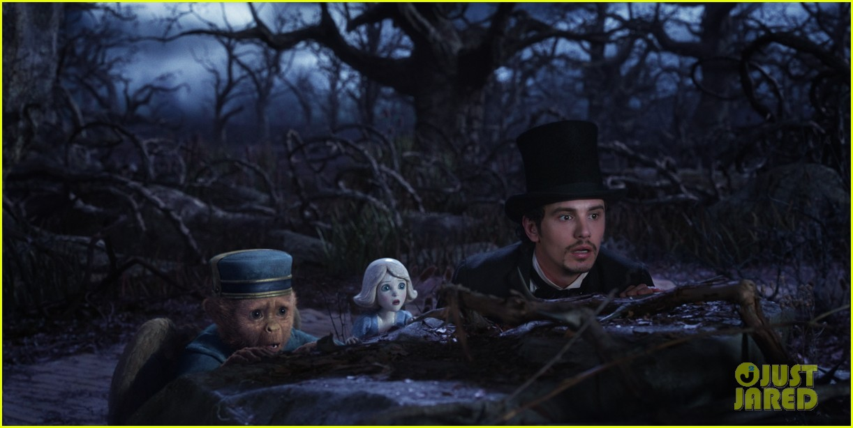 mila kunis james franco oz the great and powerful set visit 13