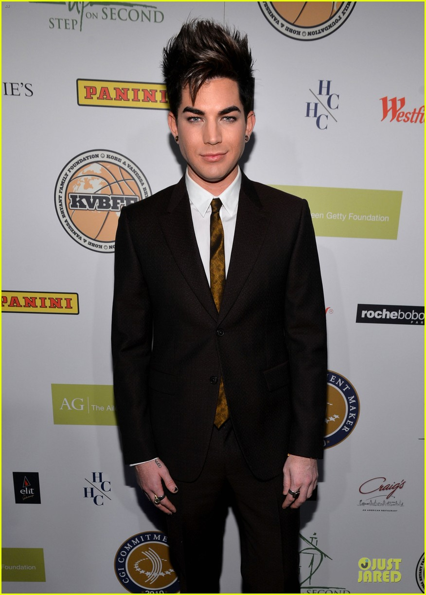 adam lambert step up on vine grand opening  07