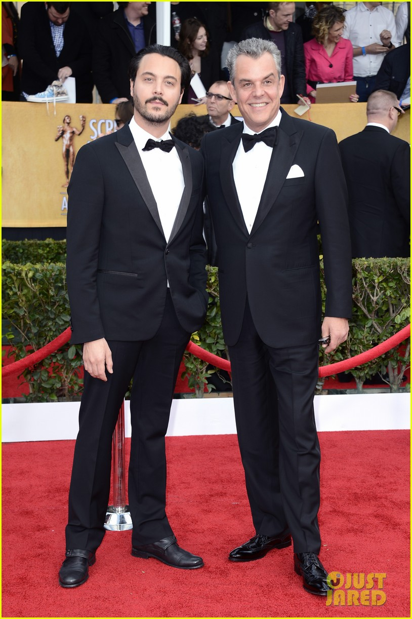 jude law sag awards 2013 with jack huston 022799904