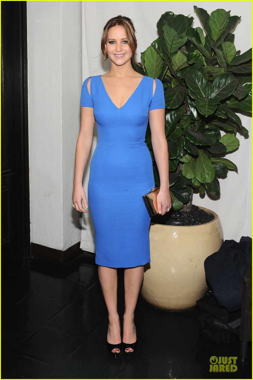 jennifer lawrence bradley cooper w magazine pre golden globes party 01