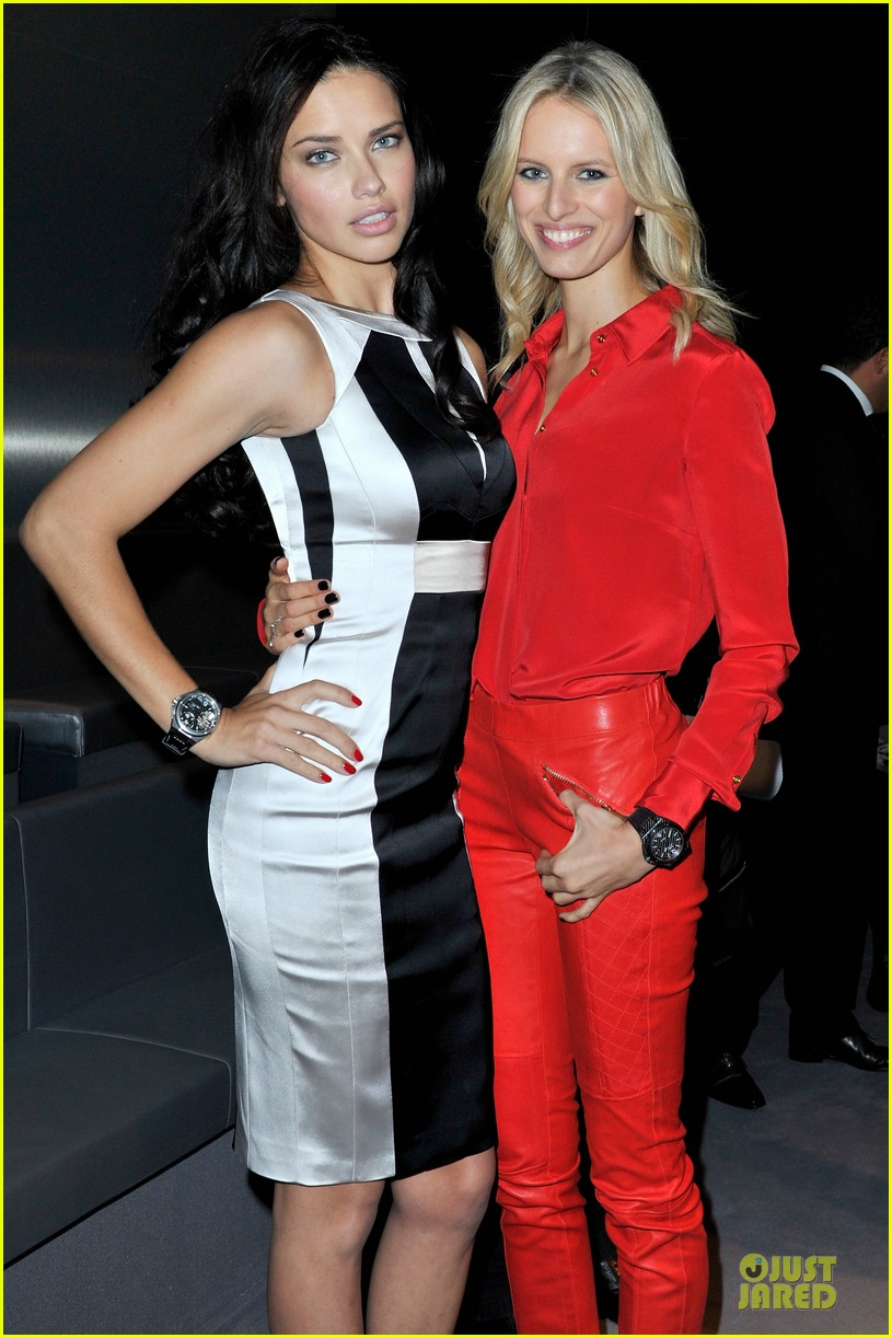 adriana lima karolina kurkova iwc schaffhausen race night event 04