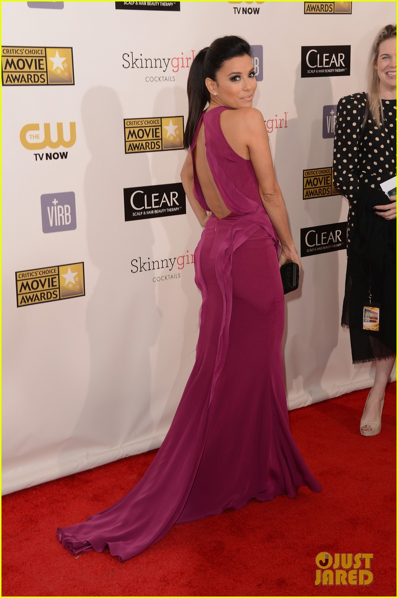 eva longoria critics choice awards 2013 red carpet 042788649