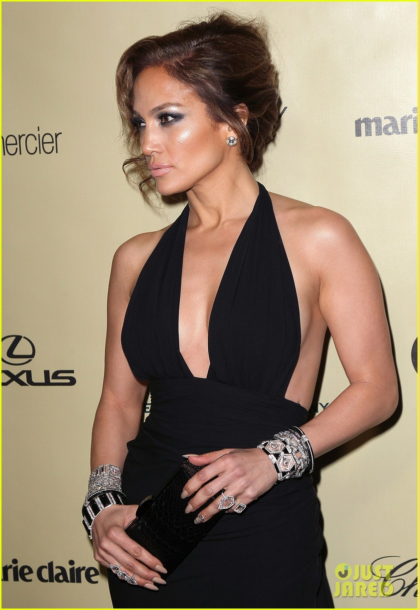 jennifer lopez casper smart golden globes parties 2013 09